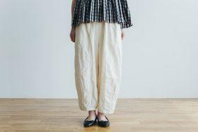 linen short charlie pants  white 1