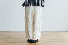 linen short charlie pants  white 3