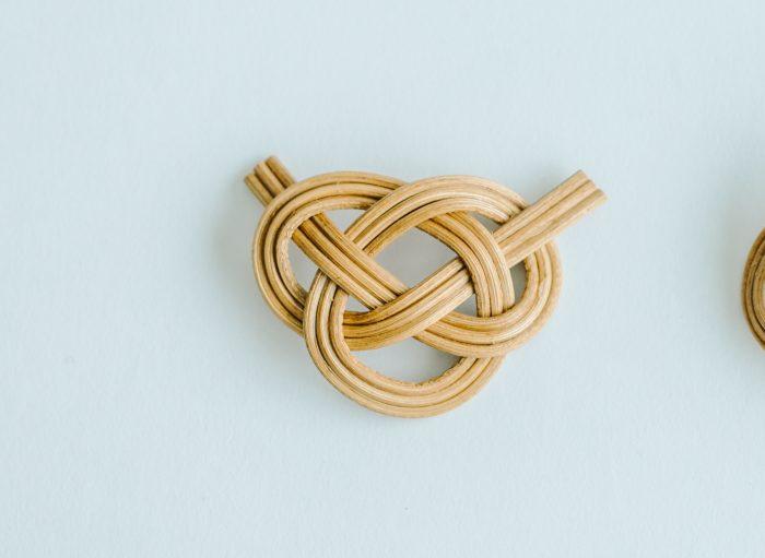 ensemble 籐の帯留め ② 3