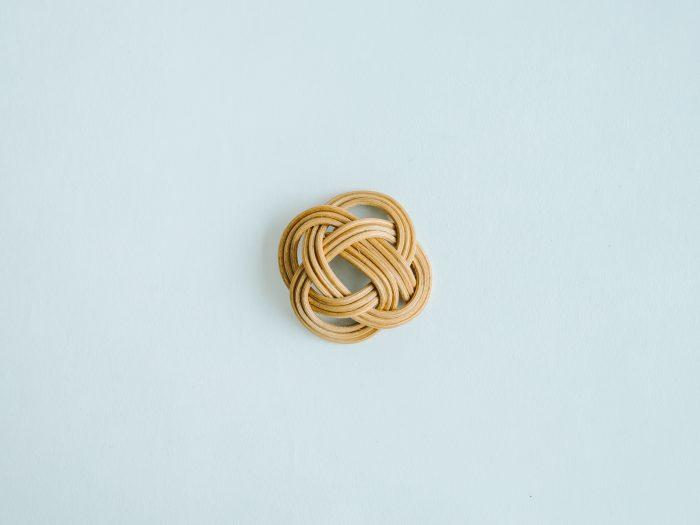 ensemble 籐の帯留め ③ 1