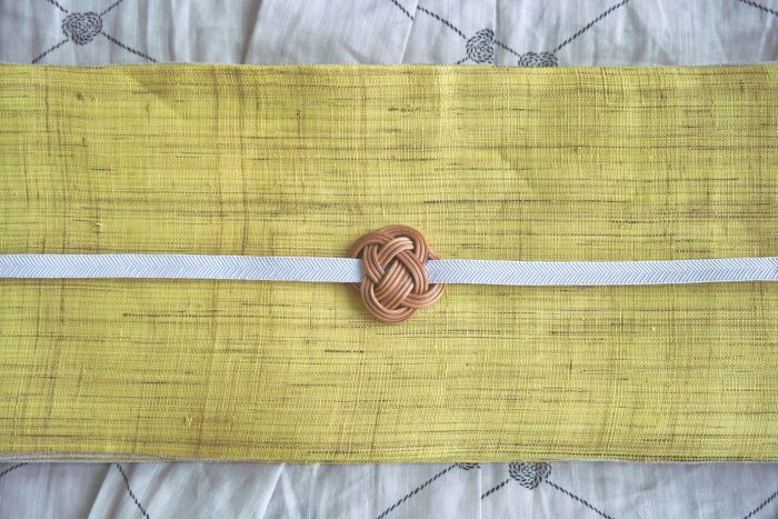 ensemble 籐の帯留め ③ 2