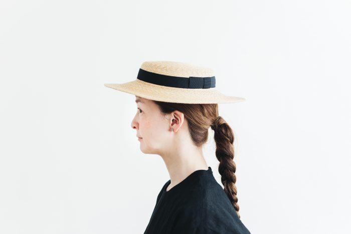 6mm braid straw hat short 2