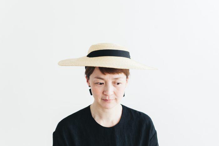 6mm braid straw hat middle 1