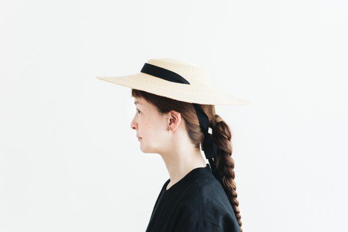 6mm braid straw hat middle 2