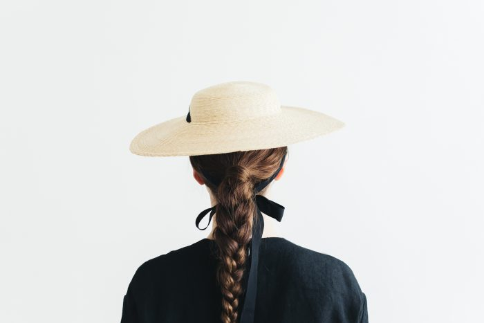 6mm braid straw hat middle 3