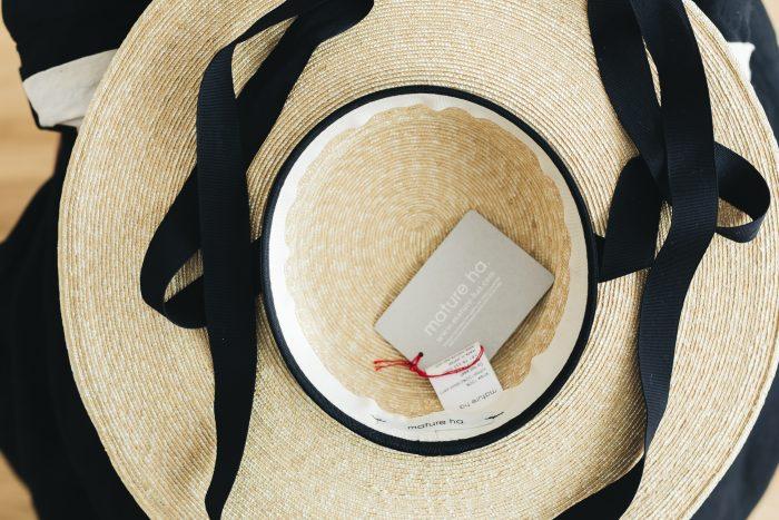 6mm braid straw hat middle 4