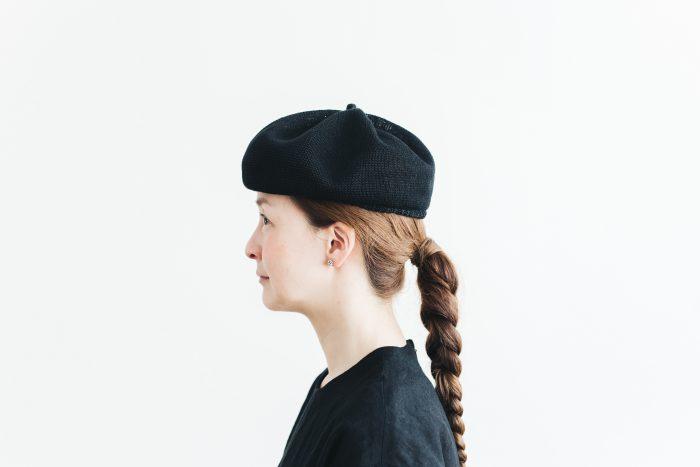 berer top gather linen  black 2