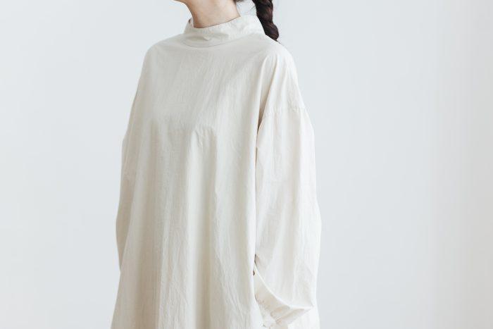 Cotton Linen 2way one-piece  ecru 6
