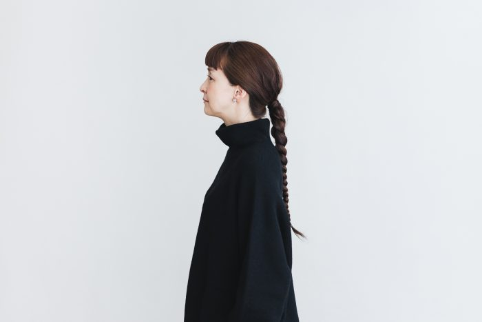 Wool turtle-neck Pull Over  black 5