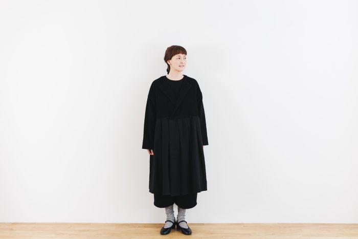 Cache-couer Coat  black 1