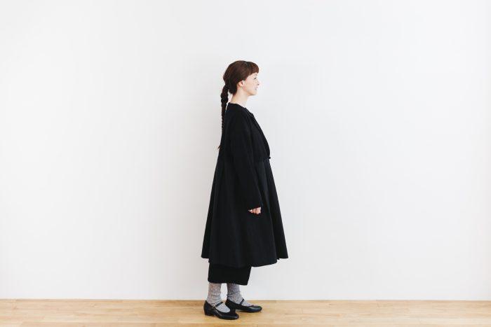 Cache-couer Coat  black 2