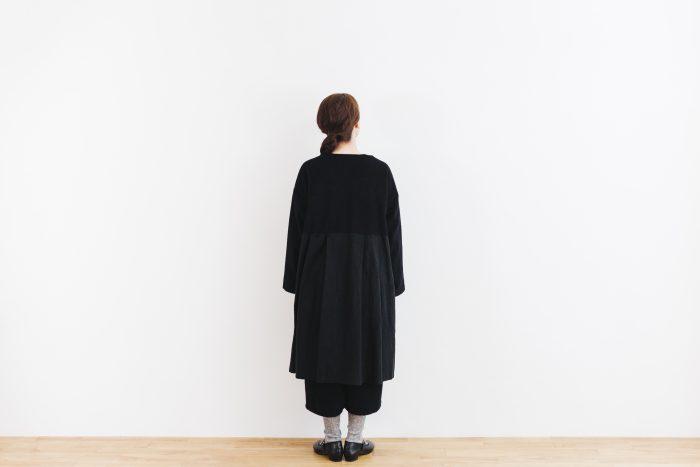 Cache-couer Coat  black 3