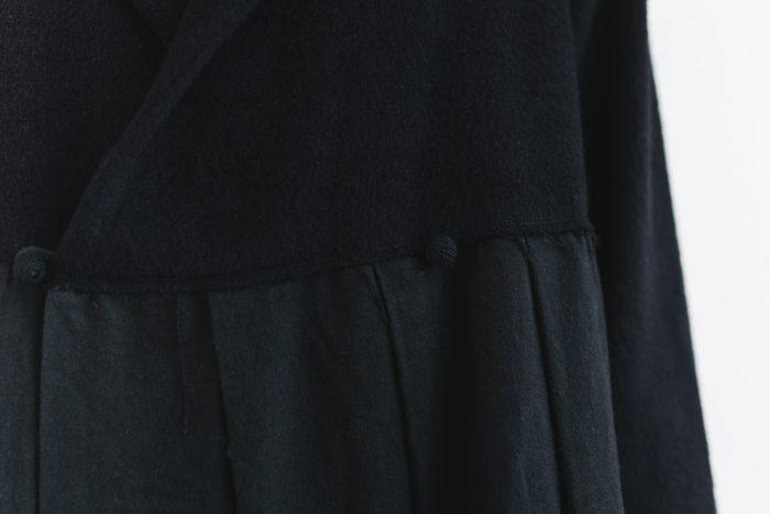 Cache-couer Coat  black 5