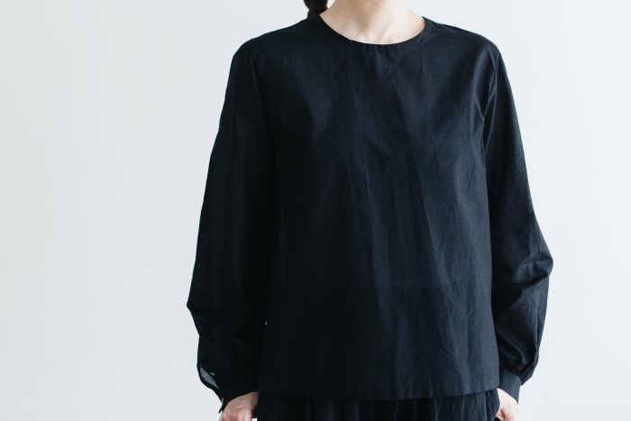 S/C GATHER SLEEVE BLOUSE 1