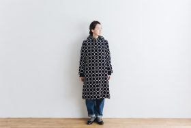tambourine coat  navy 1