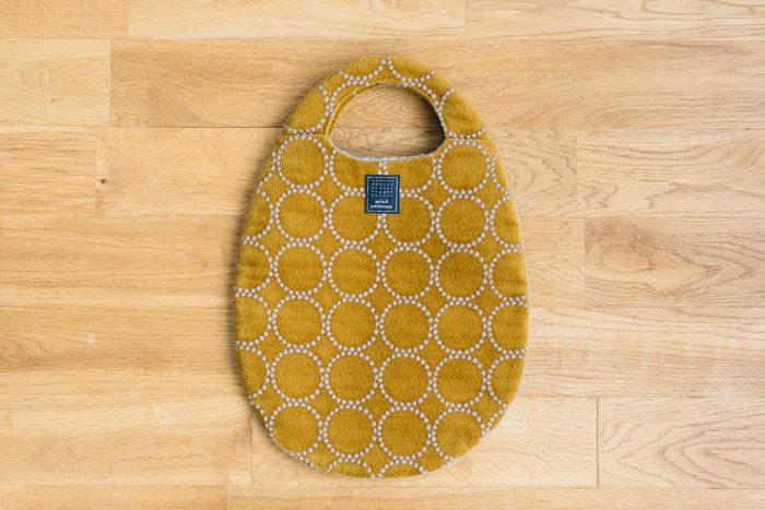 tambourine egg bag  mustard 2