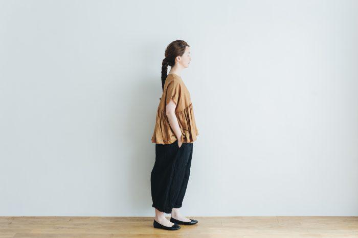 cotton nylon short charlie pants  black 6