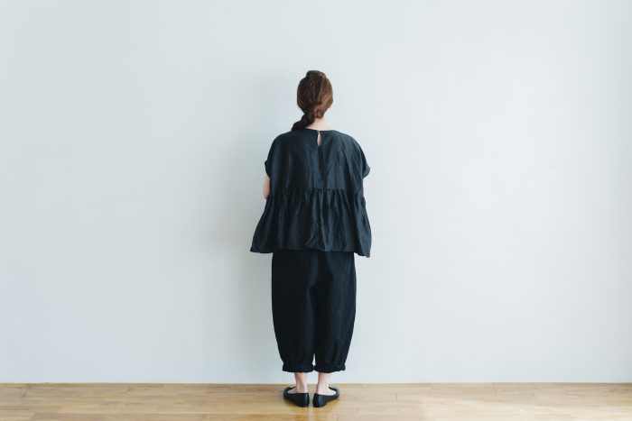 cotton nylon short charlie pants  black 5
