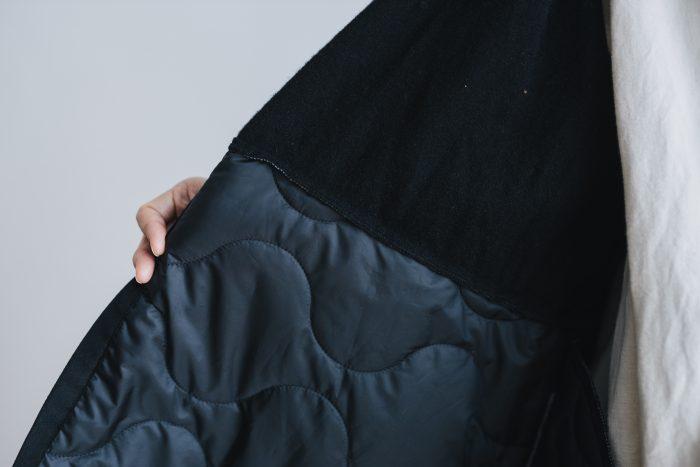 SWITCHING MILITARIA COAT  deep black 5