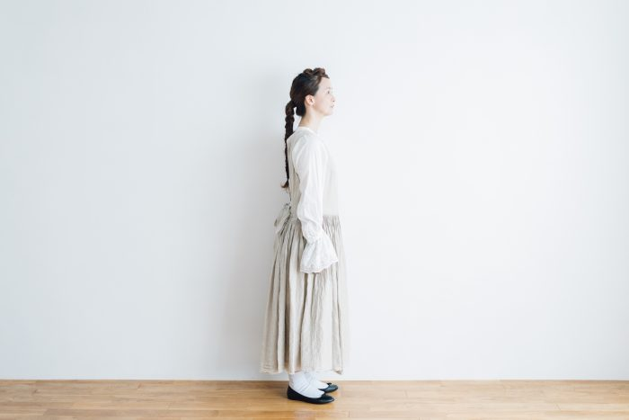 花びらの枚数を タックドレス 2