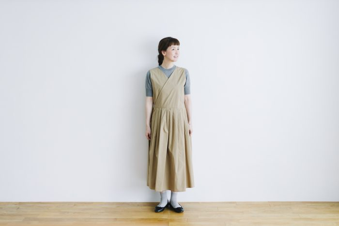 T/C CROSS OVER DRESS 1