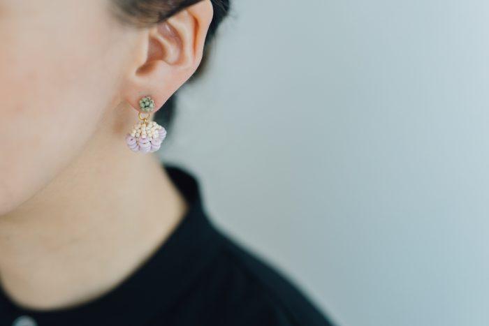 lilac+ 小つぶピアス 1
