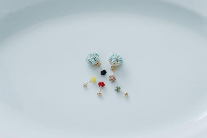 snow blue+ 小つぶピアス 6