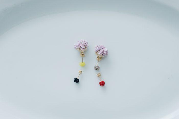 lilac+ 小つぶピアス 6