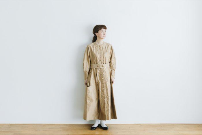 プぺコートドレス goldbeige 1