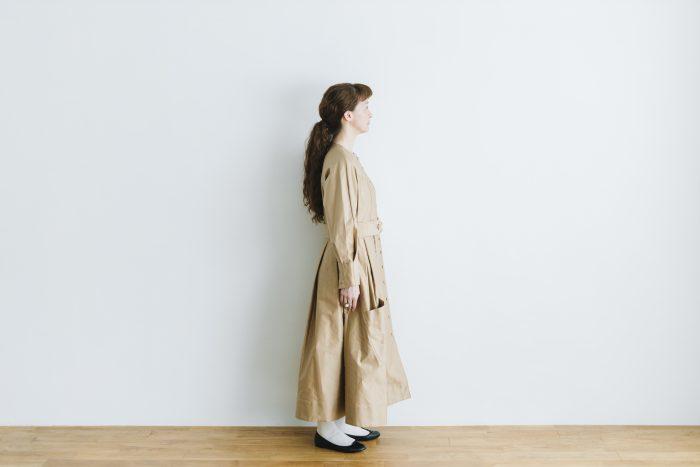 プぺコートドレス goldbeige 2