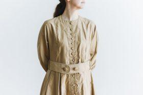 プぺコートドレス goldbeige 4
