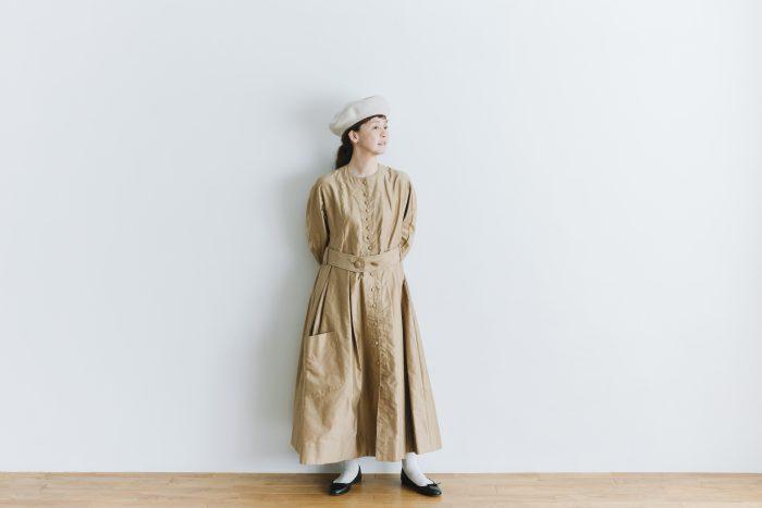 プぺコートドレス goldbeige 6
