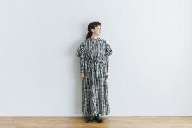 キャピュレットドレス blackgingham 1