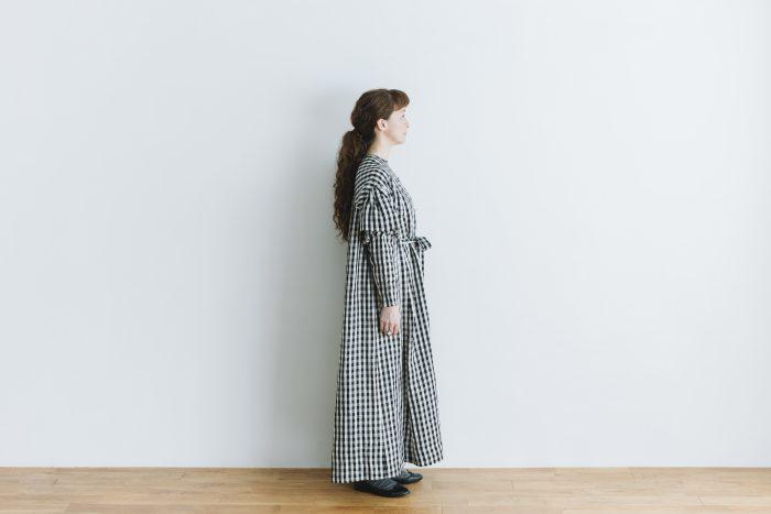 キャピュレットドレス blackgingham 2