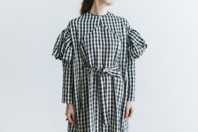 キャピュレットドレス blackgingham 4