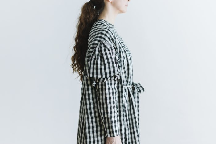 キャピュレットドレス blackgingham 5