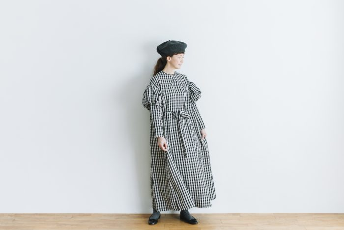 キャピュレットドレス blackgingham 6