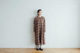 SHETLAND LINEN PULL OVER DRESS 1