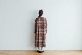 SHETLAND LINEN PULL OVER DRESS 3