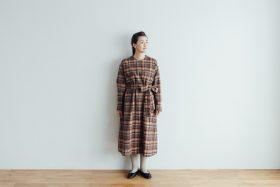 SHETLAND LINEN PULL OVER DRESS 2
