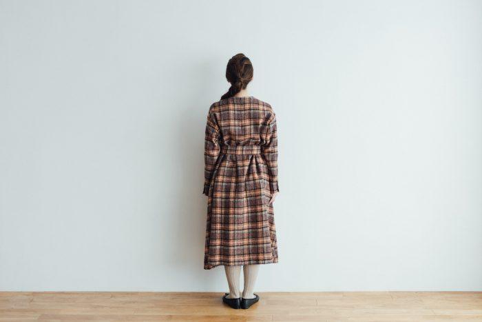 SHETLAND LINEN PULL OVER DRESS 4