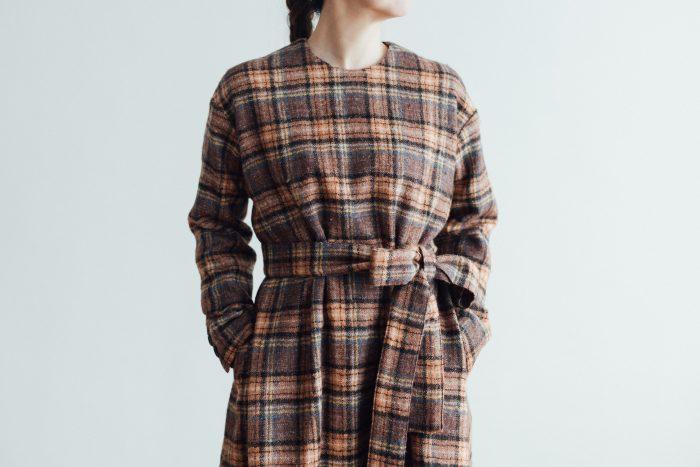 SHETLAND LINEN PULL OVER DRESS 5