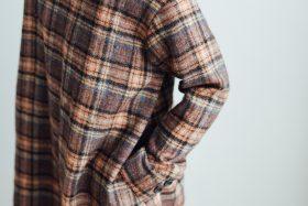 SHETLAND LINEN PULL OVER DRESS 6