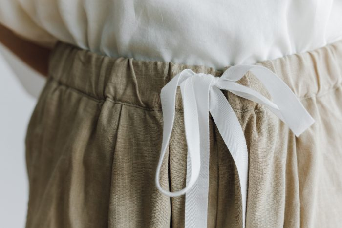 LINEN GARCON PANTS light beige 4