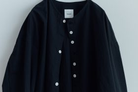 FAKE BUTTON SHIRT BLOUSE black 5