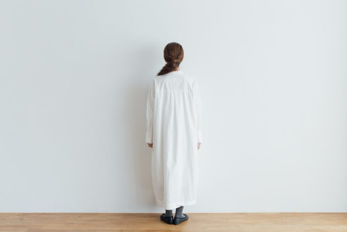 CLASSICAL SHIRTS ONE PIECE  white 3