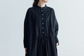 CLASSICAL SHIRTS ONE PIECE  black 4
