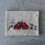 CIRCUS EMBROIDERY POUCH