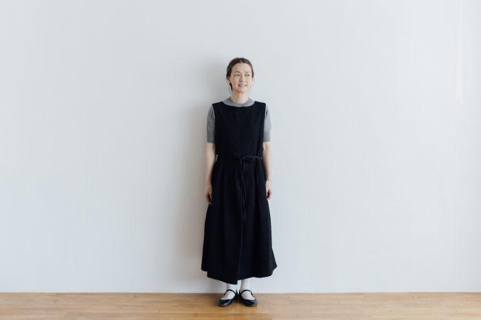 MATELASSE CROSS OVER DRESS black 4
