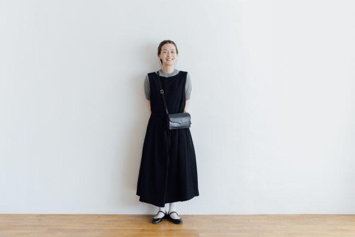 MATELASSE CROSS OVER DRESS black 6